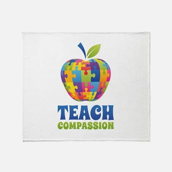 Teach Compassion Stadium Blanket