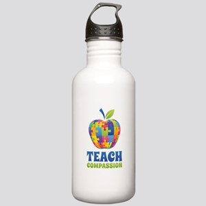 Teach Compassion Stainless Water Bottle 1.0L