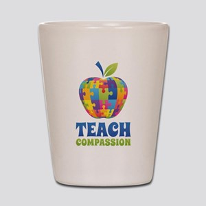 Teach Compassion Shot Glass