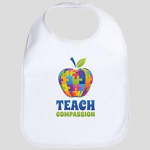 Teach Compassion Bib