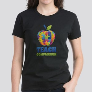 Teach Compassion Women's Dark T-Shirt
