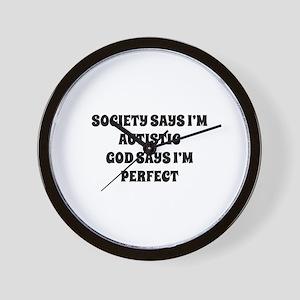I'm Perfect Wall Clock