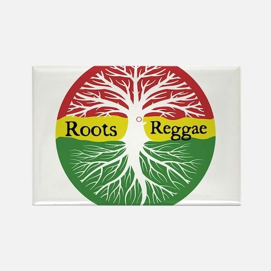 Roots Reggae Rectangle Magnet