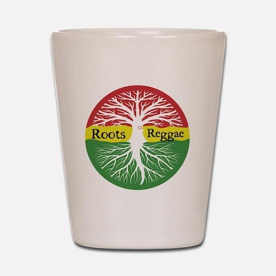Roots Reggae Shot Glass