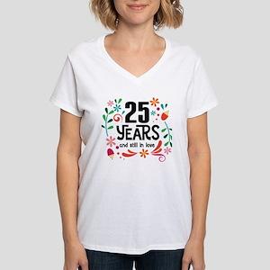 25th Wedding Anniversary Gift T-Shirt