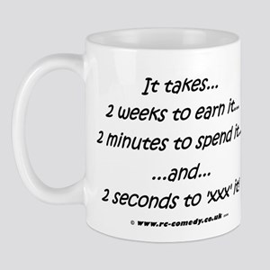 ...2 seconds to 'xxx' it Mug