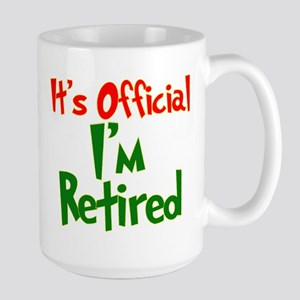 Retirement Fun! Large Mug