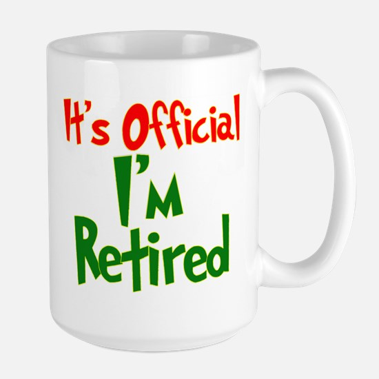 Retirement Fun! Large Mug