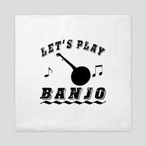 Let's Play Banjo Queen Duvet