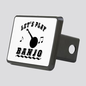Let's Play Banjo Rectangular Hitch Cover