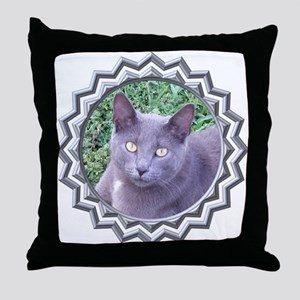 MoonShadow Throw Pillow