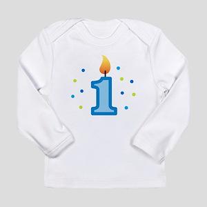Candle1BoyLarge Long Sleeve T-Shirt