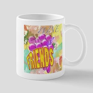 Wine & Friends Mug