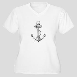 Anchor Plus Size T-Shirt
