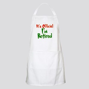 Retirement Fun! BBQ Apron