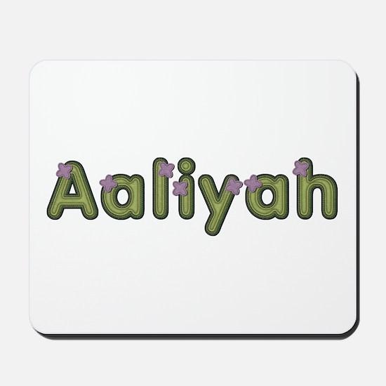 Aaliyah Spring Green Mousepad