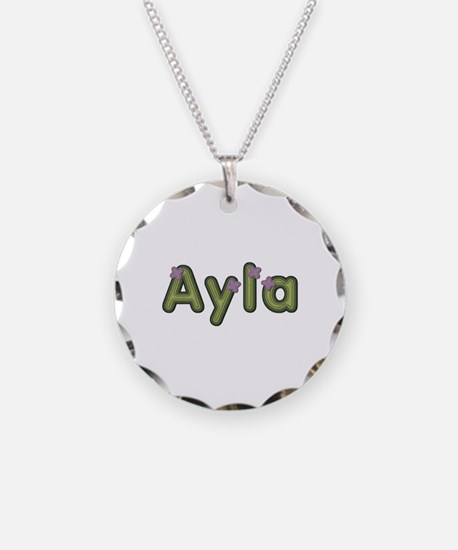 Ayla Spring Green Necklace