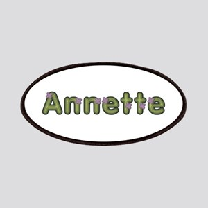 Annette Spring Green Patch