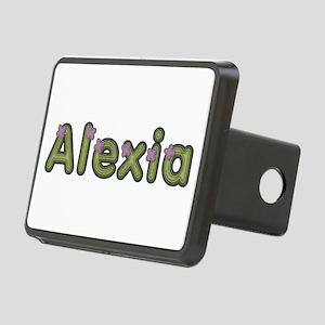 Alexia Spring Green Rectangular Hitch Cover