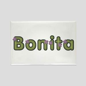 Bonita Spring Green Rectangle Magnet