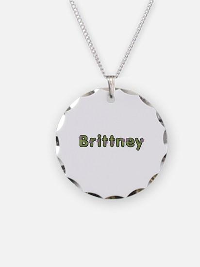 Brittney Spring Green Necklace