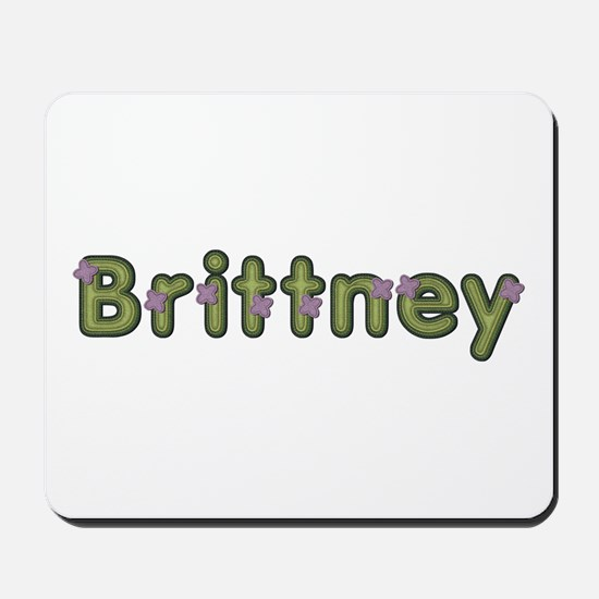 Brittney Spring Green Mousepad