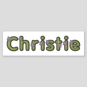 Christie Spring Green Bumper Sticker