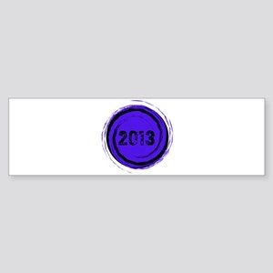 Cool 2013 Graduation Bumper Sticker