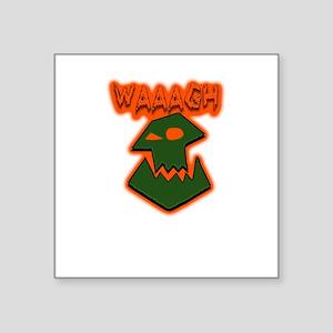 """Orkz Waaagh! Square Sticker 3"""" x 3"""""""