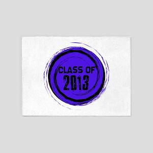 Class Of 2013 5'x7'Area Rug