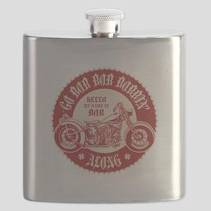 Bobbin' Along Flask