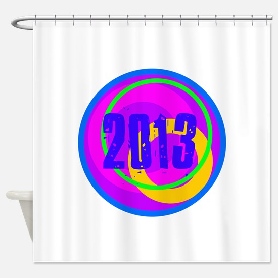 Cool 2013 Graduation Shower Curtain
