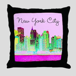 FABULOUS NYC Throw Pillow