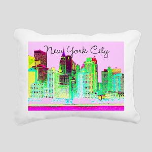 FABULOUS NYC Rectangular Canvas Pillow