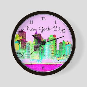 FABULOUS NYC Wall Clock