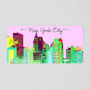 FABULOUS NYC Aluminum License Plate