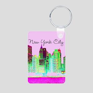 FABULOUS NYC Aluminum Photo Keychain