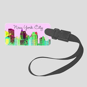 FABULOUS NYC Small Luggage Tag
