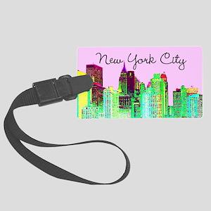 FABULOUS NYC Large Luggage Tag