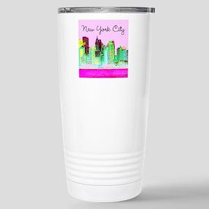 FABULOUS NYC Stainless Steel Travel Mug