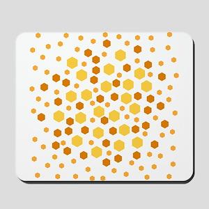 Hexagon Dots. Mousepad