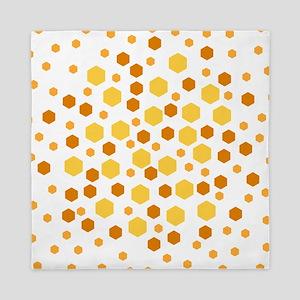 Hexagon Dots. Queen Duvet