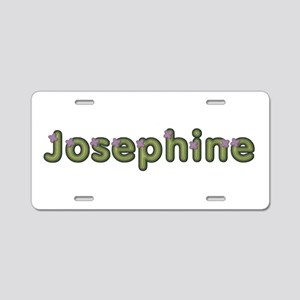Josephine Spring Green Aluminum License Plate