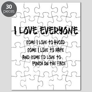 I Love Everyone Puzzle