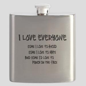 I Love Everyone Flask