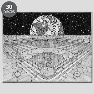 Ballpark Moon Puzzle