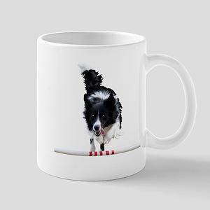 Border Collie jump Mug