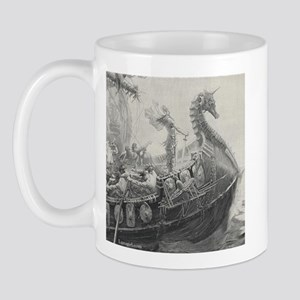Siegfried Viking Ship Fantasy Myth Mugs