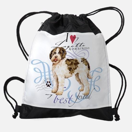 I love my Lagotto Romagnolo Drawstring Bag