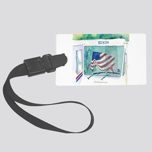 Mail Truck Luggage Tag